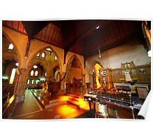 A church interior 2 Poster