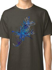 Taru-Blueberry Splash : Pale Lines Classic T-Shirt
