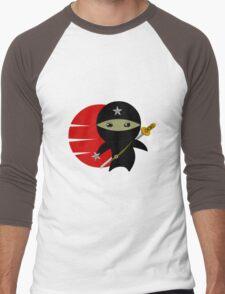 NINJA STAR Men's Baseball ¾ T-Shirt