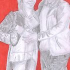 Mark & Rammy- Red Background by Kyleacharisse