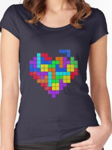 THE GAME OF LOVE Women's Fitted Scoop T-Shirt