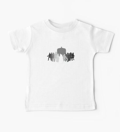 enemies of the doctor Baby Tee