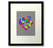 THE GAME OF LOVE Framed Print