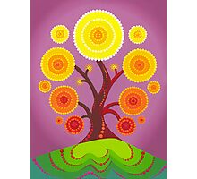 Orb tree of fruition Photographic Print