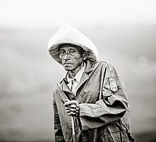 VN Geezer from Hanoi countryside by Thomas Jeppesen