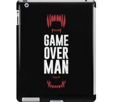 Game Over Man iPad Case/Skin