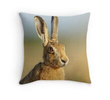 Hare Throw Pillow 01 Throw Pillow