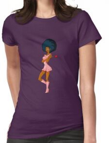 CANDY GIRL Womens Fitted T-Shirt