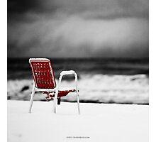 Sea Snow Photographic Print
