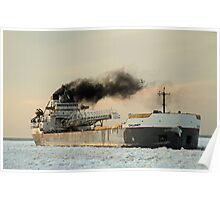 winter shipping Poster