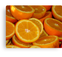Orange Squash Canvas Print
