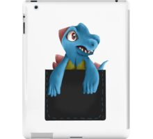 Pocket Totodile iPad Case/Skin