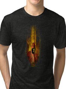 When torn Tri-blend T-Shirt