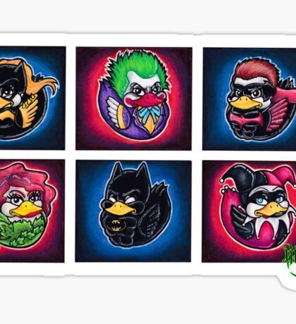 Dee-Cee Duckies Sticker