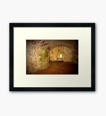 Fort Monroe Garrison Framed Print