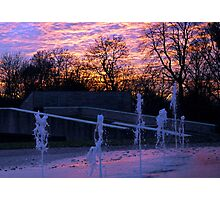 Fountains In The Park Photographic Print