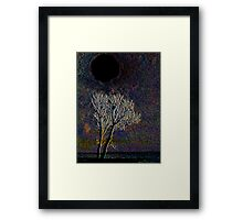 The Hole of Darkness Framed Print