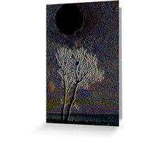 The Hole of Darkness Greeting Card