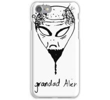 grandad alien iPhone Case/Skin