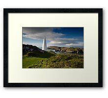 The Beacon, Baltimore, West Cork Framed Print