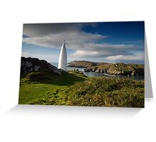 The Beacon, Baltimore, West Cork Greeting Card