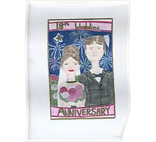 18th Anniversary Wedding Poster
