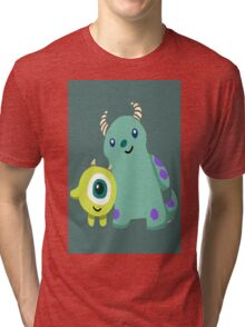 Monster Inc Mike and Sulley Tri-blend T-Shirt