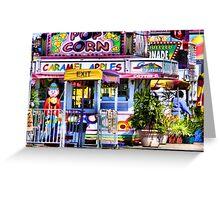 Carnival Goodies Greeting Card
