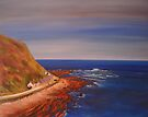 Burnmouth-Scotland by Beatrice Cloake