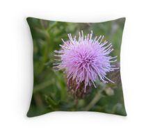 Weeds can be beautiful! Throw Pillow
