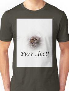 Cute Tabby Cat Purr...fect!  Unisex T-Shirt