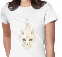 White Fox Womens Fitted T-Shirt