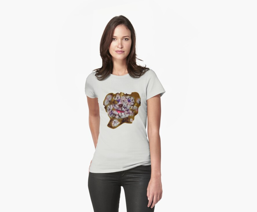 Scribbler Puppy Tee by MaeBelle