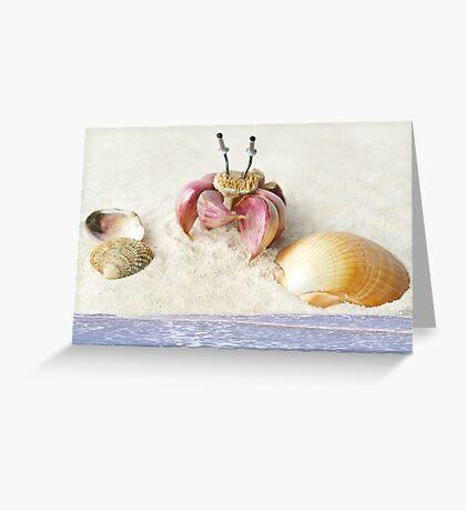 Garlic Crab Greeting Card