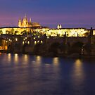Prague at Night by Lin-Ann Anantharachagan