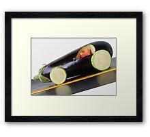 Fast-Food! Framed Print