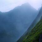 misty mountain by Daphne Kotsiani