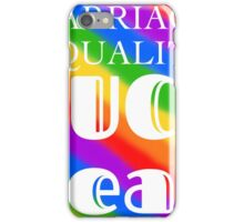 Marriage Equality  iPhone Case/Skin