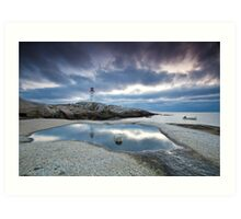 Peggy's Cove fisherman Art Print