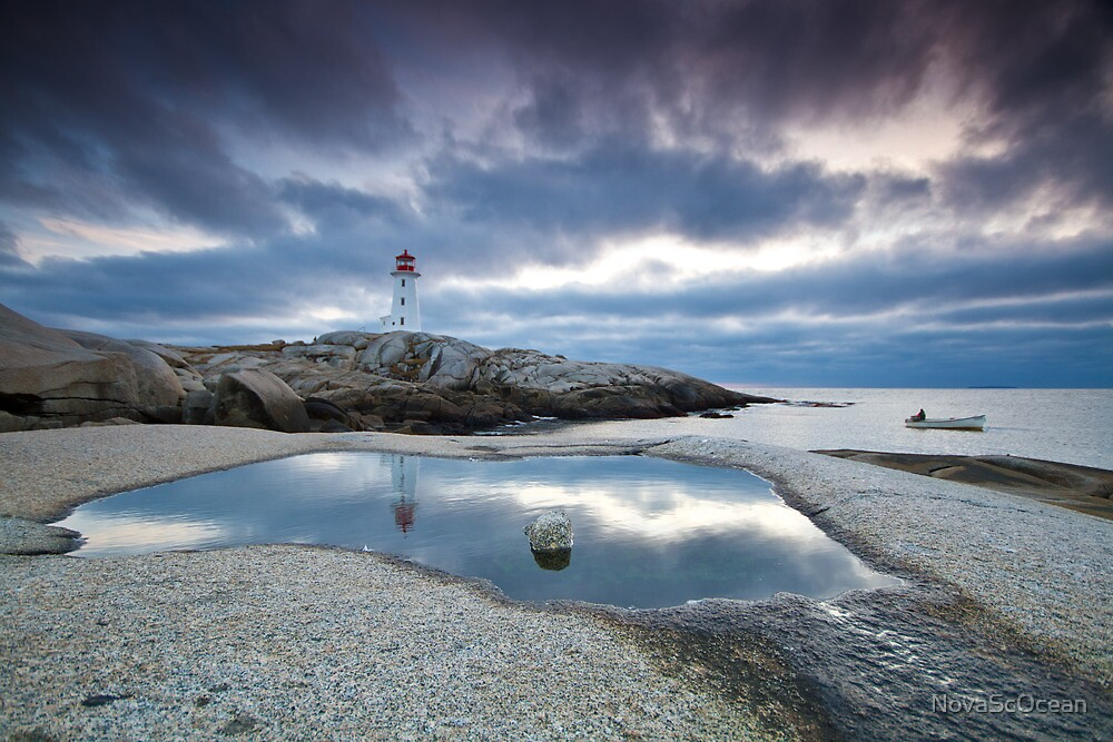 Peggy's Cove fisherman by NovaScOcean