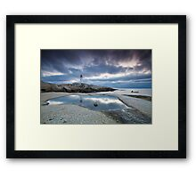 Peggy's Cove fisherman Framed Print