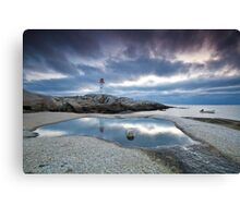 Peggy's Cove fisherman Canvas Print