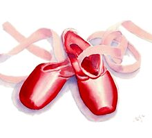 Red Toeshoes by Yvonne Carter