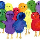 Easter Chicks by Yvonne Carter