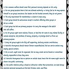 Narcotics Anonymous 12 Tradition Poster by Delights