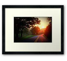 Good morning, Sunshine! Framed Print