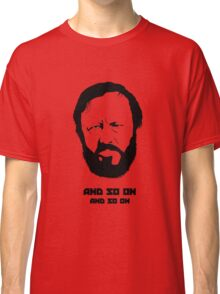 Slavoj Žižek - Portrait Classic T-Shirt