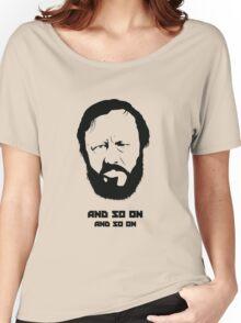 Slavoj Žižek - Portrait Women's Relaxed Fit T-Shirt