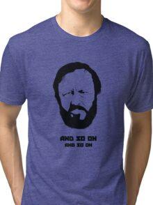 Slavoj Žižek - Portrait Tri-blend T-Shirt