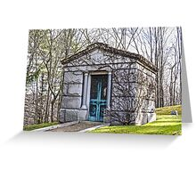 Tomb, Connecticut Greeting Card